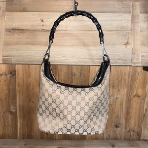 Gucci Vintage Bamboo Hobo
